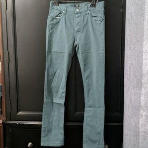 H&M Teal Slim Fit Pants sz 30x30